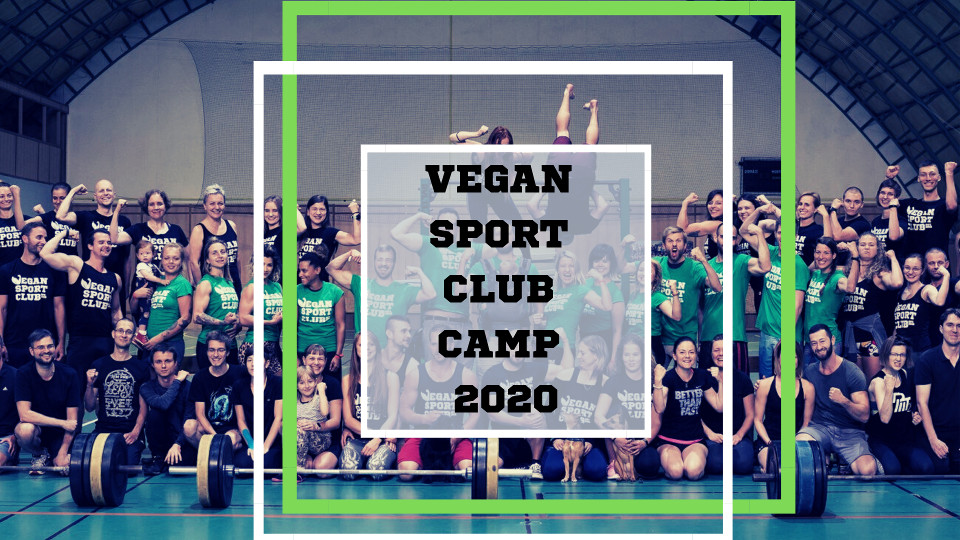 Vegan sport club camp 2020